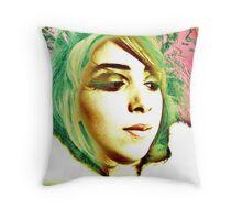 kaleidoscope belle Throw Pillow