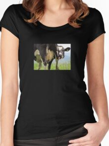 Silly Cow Women's Fitted Scoop T-Shirt