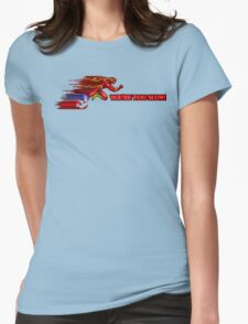 Flash & Sonic - You're Too Slow! Womens Fitted T-Shirt