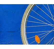 Bike Wheel Photographic Print