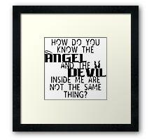 Dardevil Framed Print