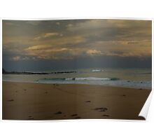 Surfing beach - Great Ocean Road Poster