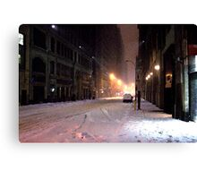 Vanishing Point Midtown Canvas Print