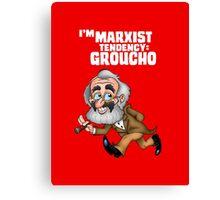 I'M Marxist Tendency Groucho  Canvas Print