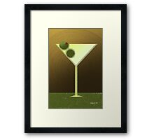New Martini Framed Print