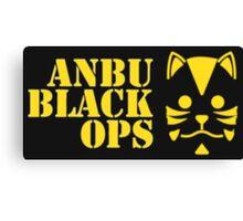 Anbu Black Ops Canvas Print