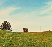 The Red Barn. by PAPERPLAN