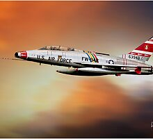 F-100F at Sunset by Need4Speed