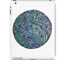 Blue iPad Case/Skin