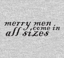 Merry Men, Come In All Sizes One Piece - Long Sleeve