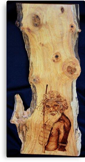 Spirit in the Tree by aussiebushstick