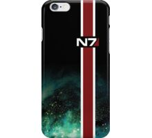 N7 Galaxy Armor Stripe iPhone Case/Skin