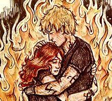 Heavenly Fire by elizabethrast