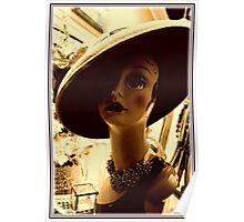 Vintage Hat Poster