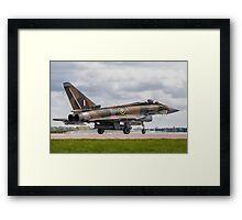 RAF Typhoon ZK349 Framed Print