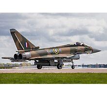 RAF Typhoon ZK349 Photographic Print