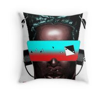 House Head Male Avatar Throw Pillow