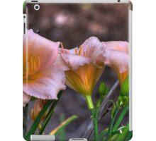 Peach Lillies iPad Case/Skin