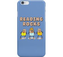 Reading Rocks  iPhone Case/Skin