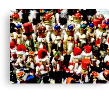 Nutcracker Army Canvas Print