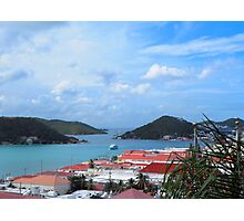 US Virgin Island View Photographic Print