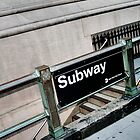 NYC Subway by Maren Misner