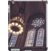 Sunlight Streaming Through Stained Glass iPad Case/Skin
