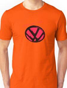 VW logo shirt - that's how i roll...  Unisex T-Shirt