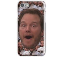 Parks and Rec - Chris Pratt Face iPhone Case/Skin