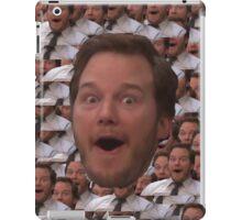 Parks and Rec - Chris Pratt Face iPad Case/Skin