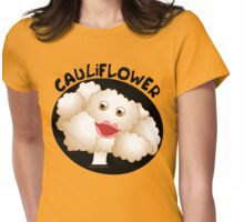 Cauliflower Oval Womens Fitted T-Shirt