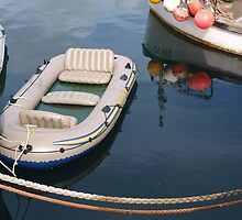 A Small Boat in Stornoway by kalaryder