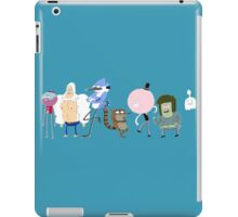 Regular Show Line Up iPad Case/Skin