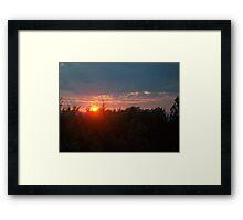 The Day Bids Farewell by Thomas Bahr II Framed Print