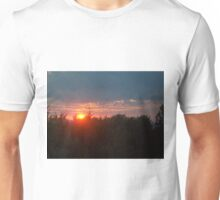 The Day Bids Farewell by Thomas Bahr II Unisex T-Shirt