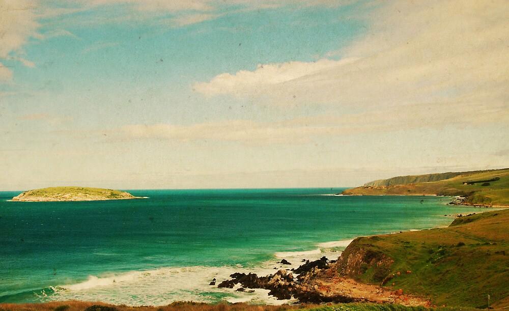 A View South... by Carol Knudsen