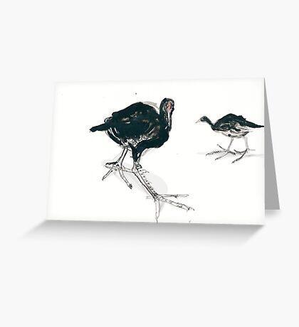 Swamp Things Greeting Card