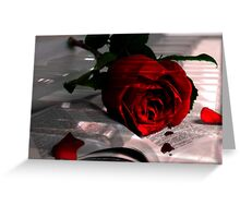 Every Rose Has It's Thorn Greeting Card