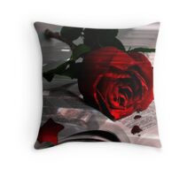 Every Rose Has It's Thorn Throw Pillow