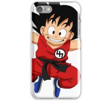 Kid goku 47 iPhone Case/Skin