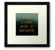 Coma Kiss II Framed Print