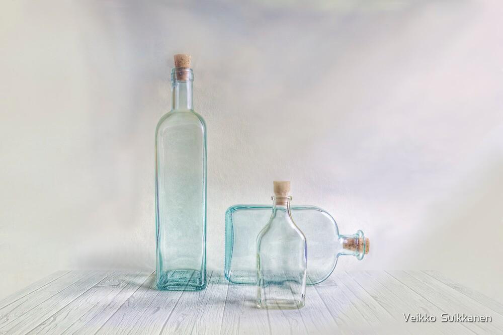 Three bottles by Veikko  Suikkanen