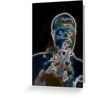 Satchmo! Greeting Card