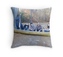 I Guess We Go Hungry Tonight Throw Pillow