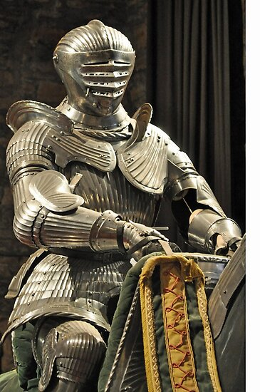 Suit of Armour at Dean castle by Bickeringbush
