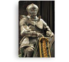 Suit of Armour at Dean castle Canvas Print
