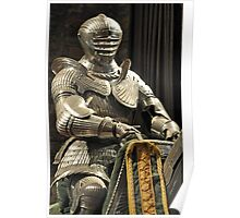Suit of Armour at Dean castle Poster