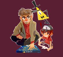 Gravity Falls- Dipper and Grunkle Ford Unisex T-Shirt