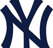 New York Yankees MLB Logo NYC by kaseys