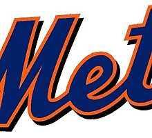 New York Mets MLB Logo by kaseys